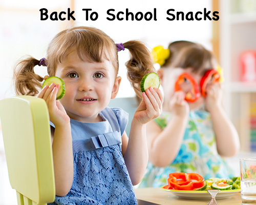 Back to school snacks that will make your kids smile!