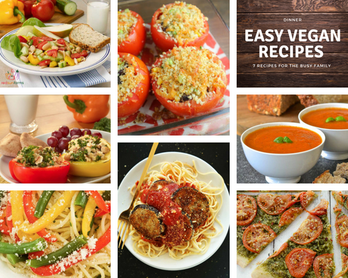 7 Easy Vegan Dinner Recipes