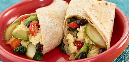 Baja Breakfast Burrito