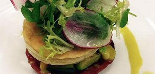 Roasted Tomato & Vegetable Tart